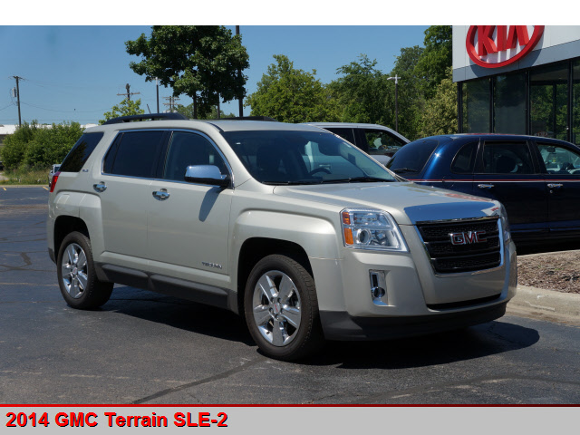 pre owned 2014 gmc terrain sle 2 awd sle 2 4dr suv in canton p11826 kia of canton. Black Bedroom Furniture Sets. Home Design Ideas